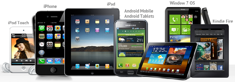 Mobile phone and handhelds